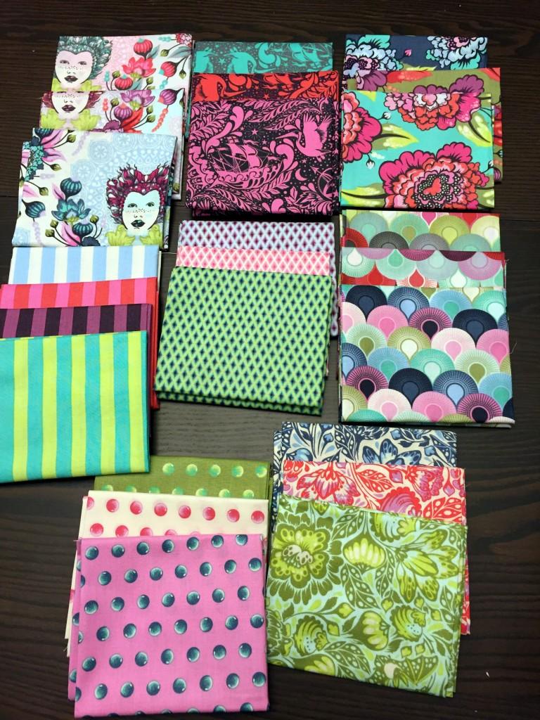 Elizabeth fabric, Tula Pink
