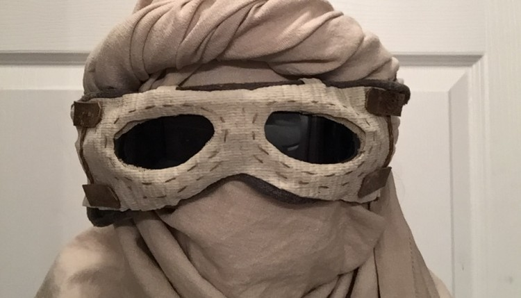 Goggles and wrap