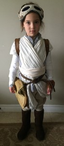 Rey costume, front