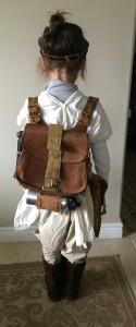 Rey costume, back