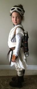 Rey costume, left